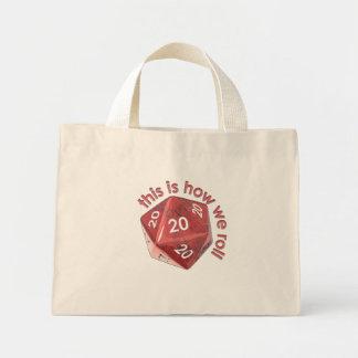HowWeRoll20s Mini Tote Bag