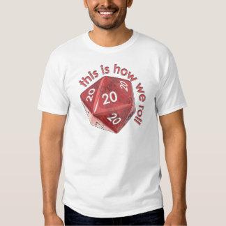 HowWeRoll20s Tee Shirt