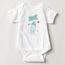 """Howzit?"" Maui Hawaii Jellyfish Baby Bodysuit"