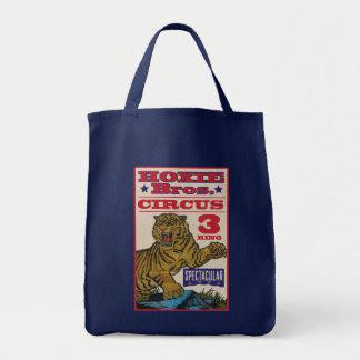 Hoxie Bros. Circus Grocery Tote Bag
