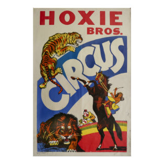 Hoxie Bros. Circus Posters
