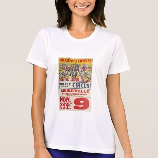 Hoxie Bros. Circus T Shirts