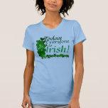 ¡Hoy, cada uno es irlandés! Camiseta