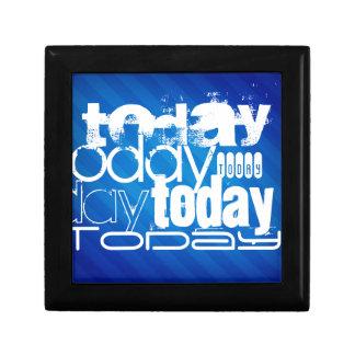 Hoy; Rayas azules reales Cajas De Joyas