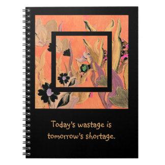 hoy y mañana libro de apuntes con espiral