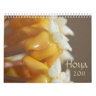 Hoya 2011 calendar