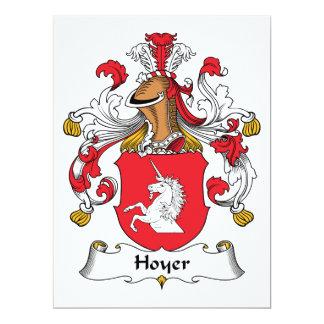 Hoyer Family Crest Card