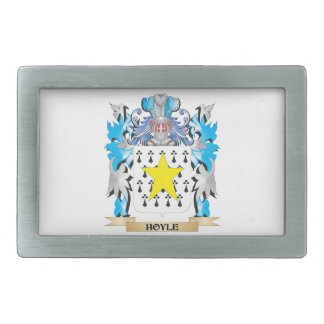 Hoyle Coat of Arms - Family Crest Belt Buckle