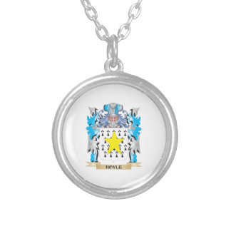 Hoyle Coat of Arms - Family Crest Custom Necklace