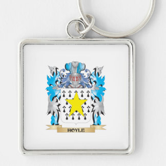 Hoyle Coat of Arms - Family Crest Key Chain