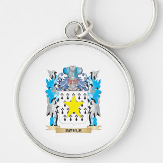 Hoyle Coat of Arms - Family Crest Keychain