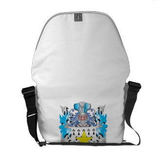 Hoyle Coat of Arms - Family Crest Messenger Bags
