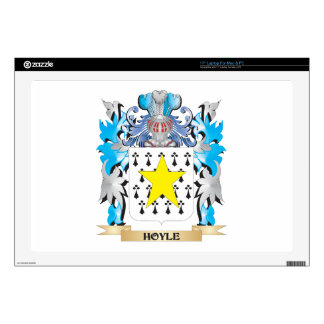 """Hoyle Coat of Arms - Family Crest 17"""" Laptop Decal"""