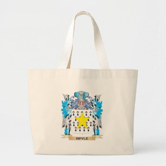 Hoyle Coat of Arms - Family Crest Tote Bags