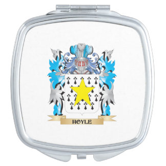 Hoyle Coat of Arms - Family Crest Travel Mirror