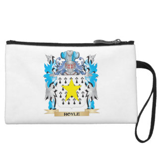 Hoyle Coat of Arms - Family Crest Wristlet Clutch