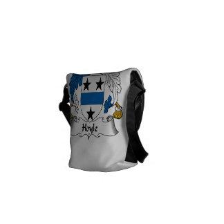 Hoyle Family Crest Messenger Bags