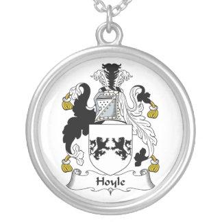 Hoyle Family Crest Necklaces