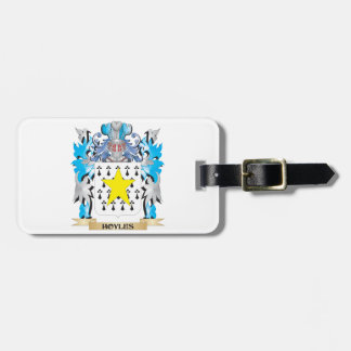 Hoyles Coat of Arms - Family Crest Bag Tag