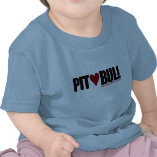 Hoyo (amor) Bull Camiseta