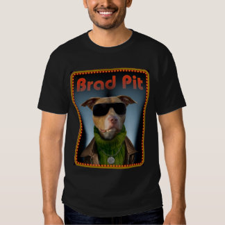 Hoyo de Brad para las camisetas negras Playeras