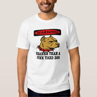 Hoyo Junkyard Dog más malo Playeras