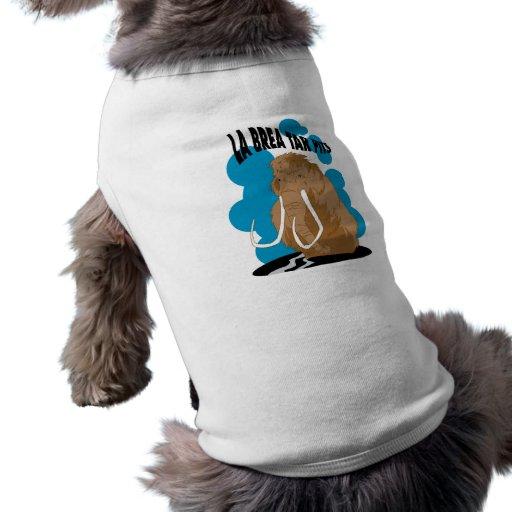 Hoyos de alquitrán de Brea del La gigantescos Camiseta De Perrito