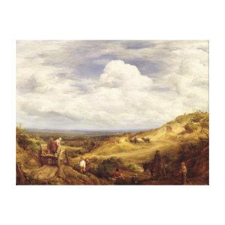 Hoyos de arena, brezo de Hampstead, 1849 Impresion De Lienzo