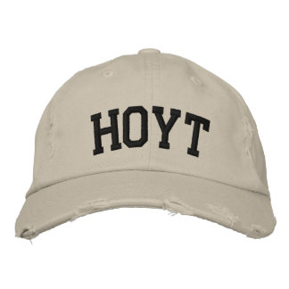 Hoyt Embroidered Hat Embroidered Hat