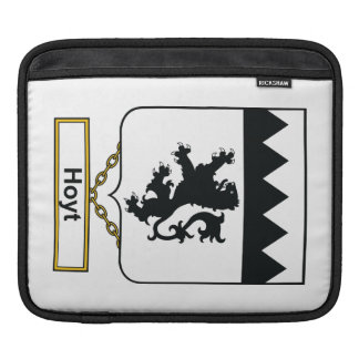 Hoyt Family Crest Sleeve For iPads