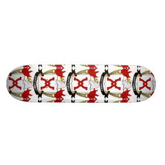 Hoyt Family Crest Skate Board
