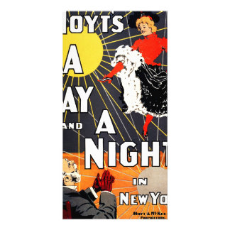 Hoyt's A day and a night in New York Card
