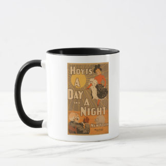 Hoyt's A day and a night in New York City Play Mug