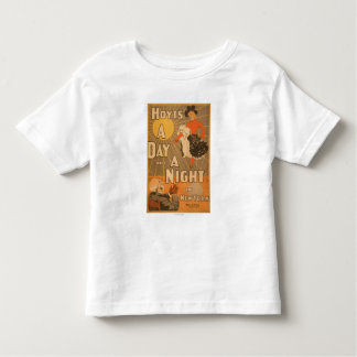 Hoyt's A day and a night in New York City Play Toddler T-shirt