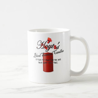 Hoyt's Blood Scented Candles Coffee Mug