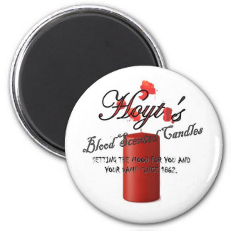 Hoyt's Blood Scented Candles Magnet