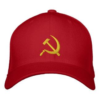 Hoz de CCCP y gorra soviéticos del martillo Gorros Bordados