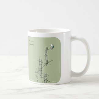 "HP5006 ""Harold's Planet"" go away i'm reading Coffee Mug"