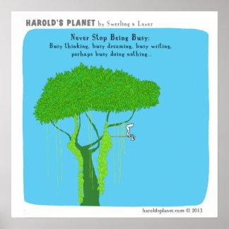 HP5015 Harold's Planet Poster