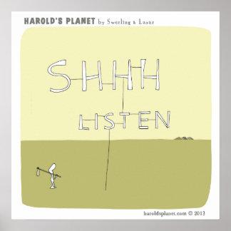 HP5016 Harold's Planet Poster