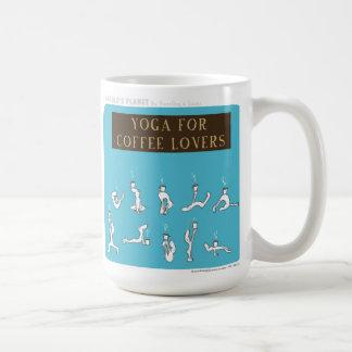 "HP5089 ""Harold's Planet"" Yoga Coffee Classic White Coffee Mug"