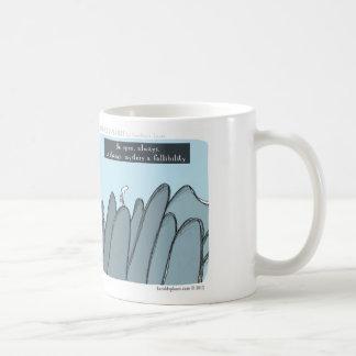 "HP5098 ""Harold's planet"" ""be open"" change mystery Classic White Coffee Mug"
