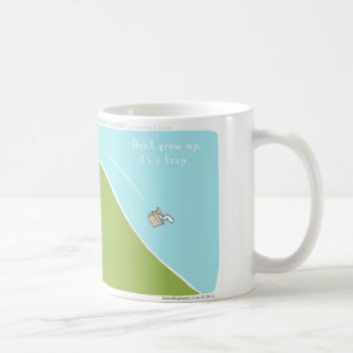 "HP5103 ""Harold's Planet"" ""Don't Grow Up"" Coffee Mugs"
