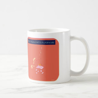 """HP5140, """"How to deal with paperwork"""", paperwork, o Coffee Mugs"""