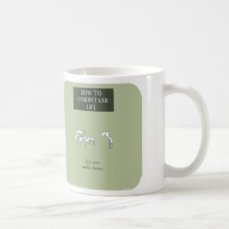 """HP5149, """"Harold's Planet"""", understand life, smelly Classic White Coffee Mug"""