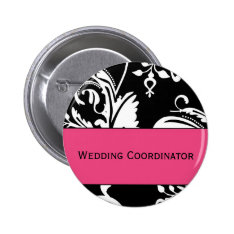 Hp&b Wedding Coordinator Button at Zazzle