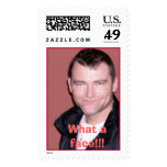 HP-chasx4-25, What a face!!! Postage Stamp