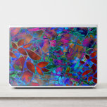 """HP EliteBook Laptop Skins Abstract Stained Glass<br><div class=""""desc"""">Digital Art,  Multicolored stained glass with floral motif</div>"""