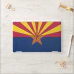 """HP laptop skin with flag of Arizona, USA<br><div class=""""desc"""">Patriotic and elegant HP laptop skin with flag of Arizona State,  United States of America. This product its customizable.</div>"""