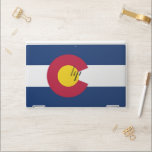 """HP laptop skin with flag of Colorado, USA<br><div class=""""desc"""">Patriotic and elegant HP laptop skin with flag of Colorado State,  United States of America. This product its customizable.</div>"""